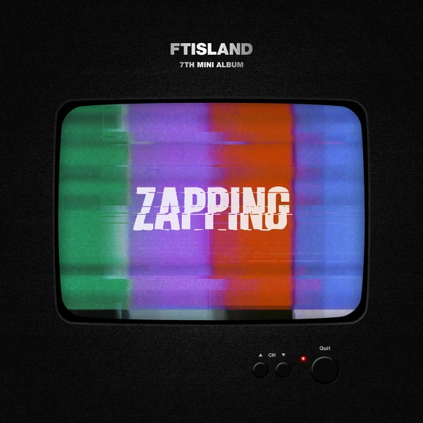 FTISLAND《ZAPPING》封面