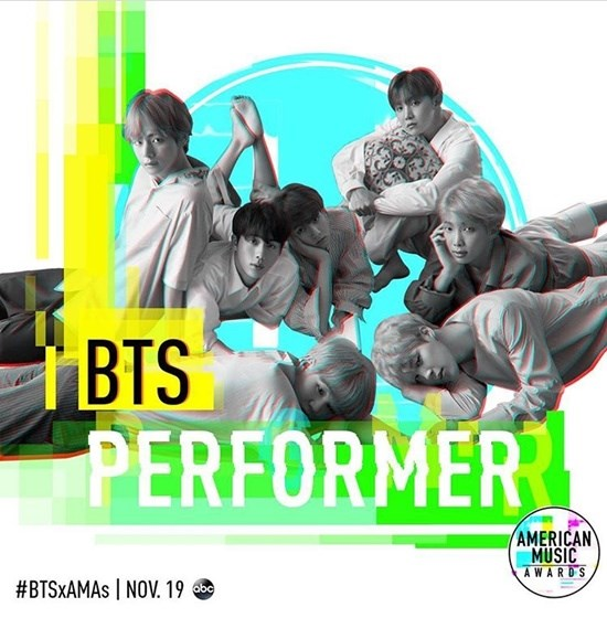 BTS 防彈少年團《全美音樂獎》