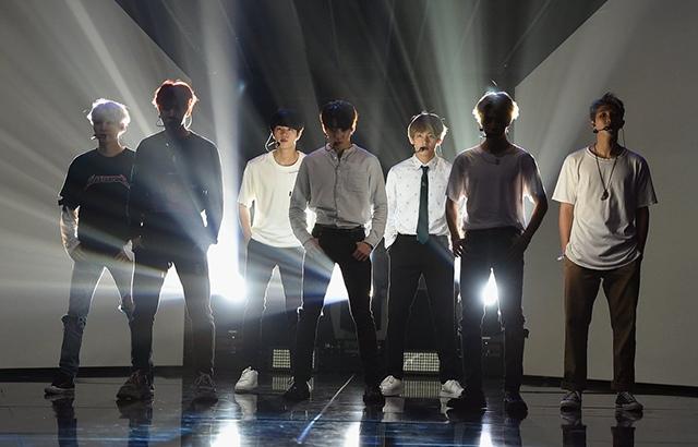 (縮圖)BTS 防彈少年團《全美音樂獎》彩排照