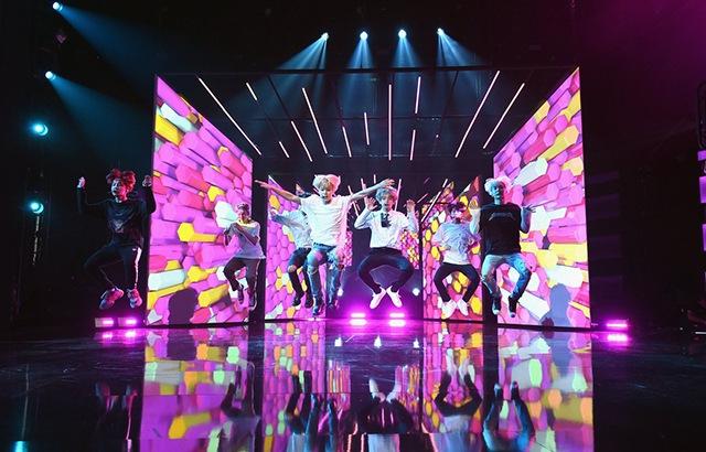 BTS 防彈少年團《全美音樂獎》彩排照