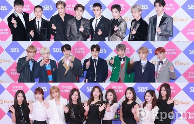 縮圖 / EXO、BTS、TWICE《2017 SBS 歌謠大戰》