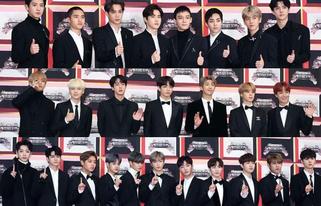 縮圖 / 《2017 KBS 歌謠大慶典》EXO、BTS、Wanna One