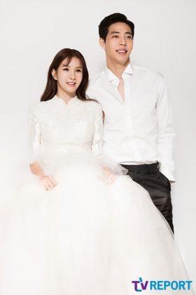 正雅公开新一波婚纱照及侧拍,採访中表示:想要赶快有小孩