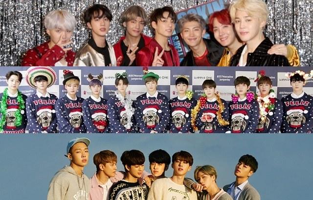 BTS、Wanna One、iKON 获得二月「男团品牌信誉」前三名!