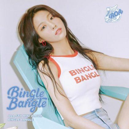 雪炫《BINGLE BANGLE》概念照