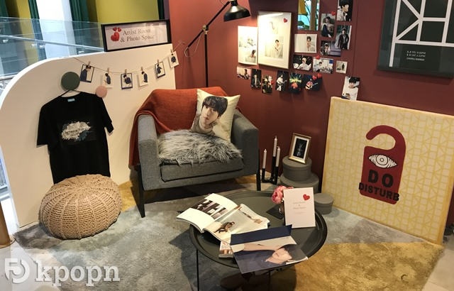 FNC WOW! CAFE「Artist Room & Photo Space」展示區 (縮圖)
