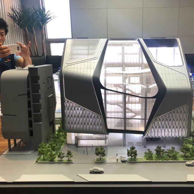 梁玄锡公开 YG Entertainment 新大楼模型,光餐厅就佔400坪!