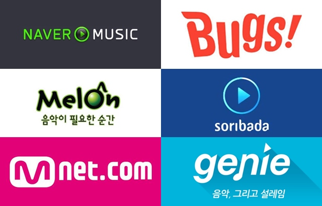 Melon、genie…等韩国主要音源网站将停止营运深夜时段即时榜单