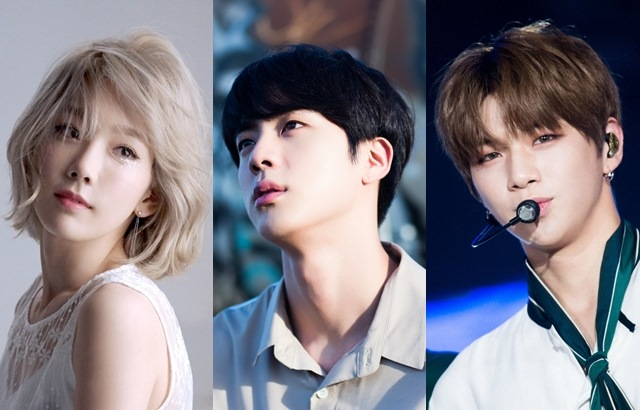太妍、Jin、姜丹尼爾