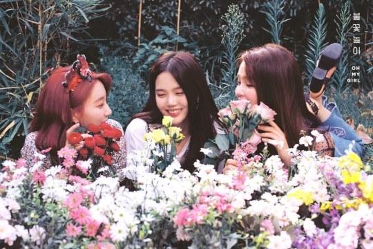 HyoJung、SeungHee、Binnie