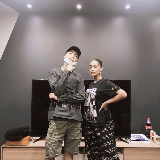 BTS RM、Jorja Smith