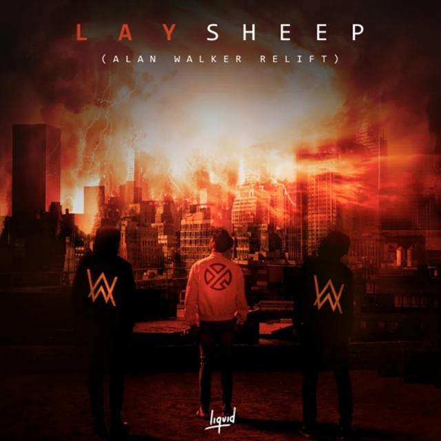 LAY《Sheep (Alan Walker Relift》封面