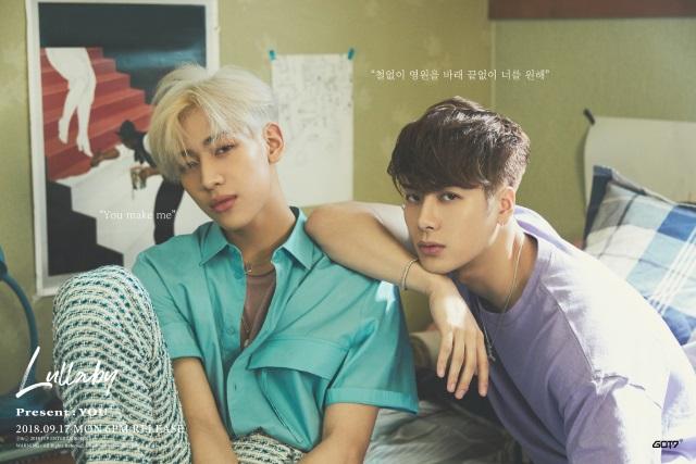 GOT7《Lullaby》分組概念照:BamBam、Jackson