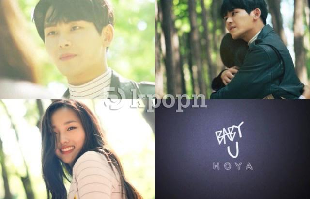 Hoya 新曲《Baby U》MV 預告截圖