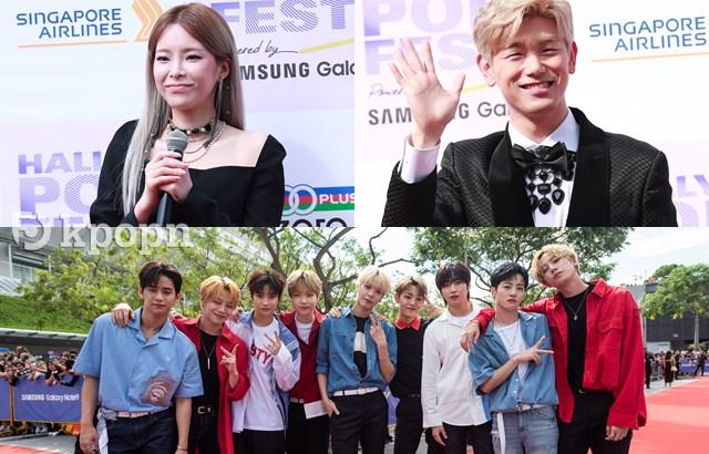 《2018 HALLYU POP FEST》Heize、UNB、Eric Nam