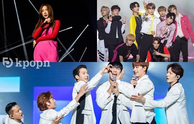 《2018 HALLYU POP FEST》太妍、BTOB、NCT127