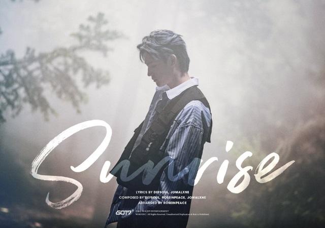 JB SOLO 曲《Sunrise》宣傳照