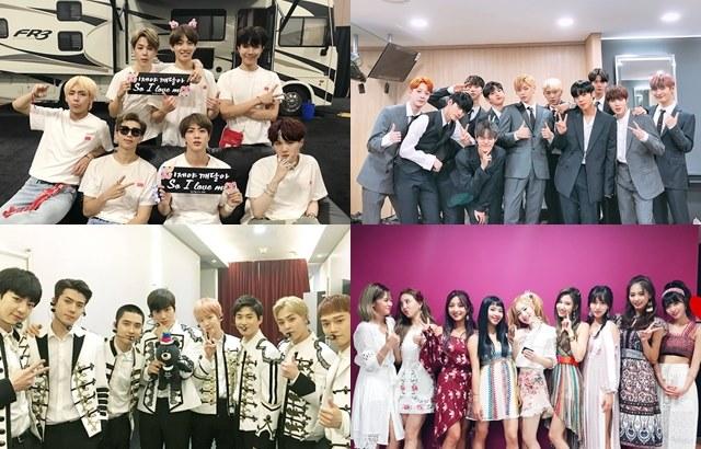 快来看看 BTS、Wanna One、EXO、TWICE 等偶像的中秋连休计画!