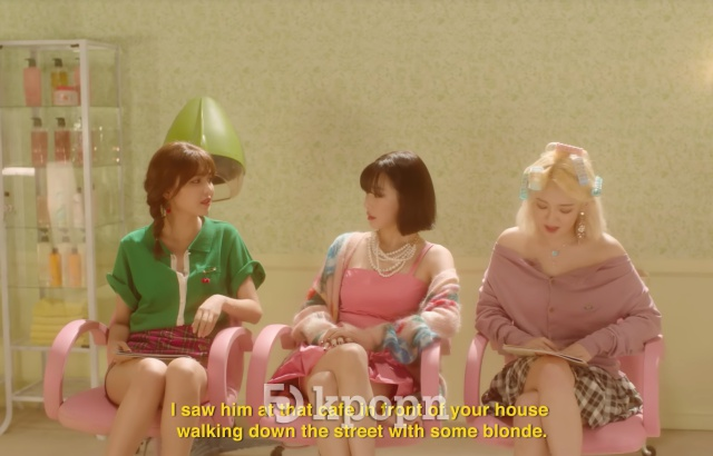 Tiffany《Teach You》MV 預告截圖