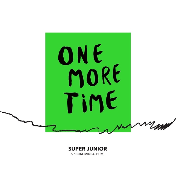 Super Junior《One More Time》封面