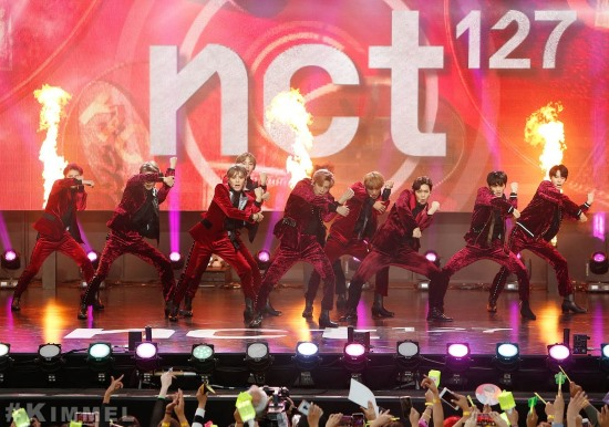 NCT 127《吉米夜現場 (Jimmy Kimmel Live)》