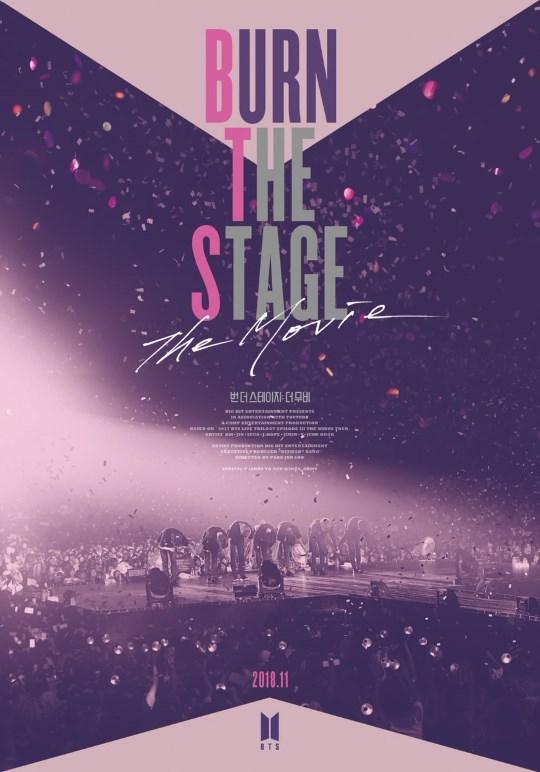 BTS 首部电影《Burn the Stage: The Movie》15日限定在台上映!