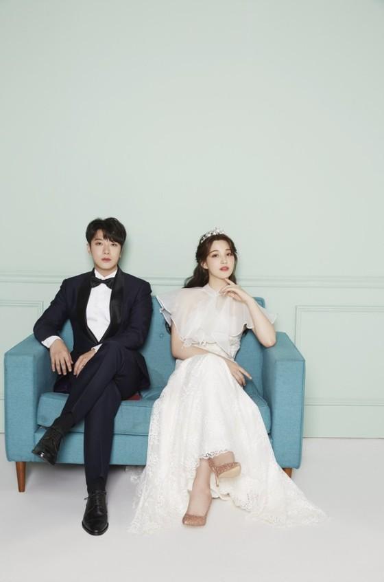 敏煥、Yul Hee 婚紗照