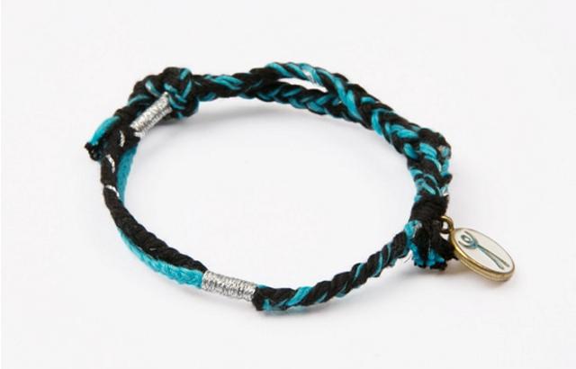 連理枝手環 (藍)