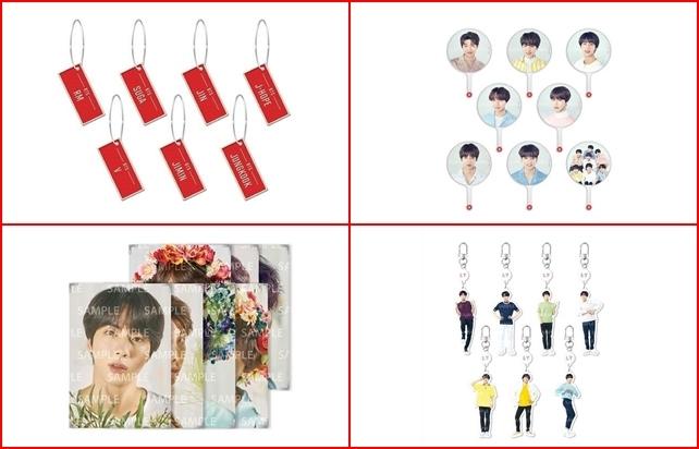 BTS 演唱會週邊商品