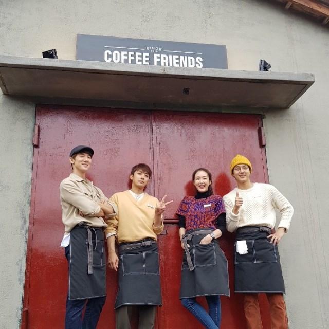 柳演錫、孫浩俊、崔智友、梁世宗《Coffee Friends》