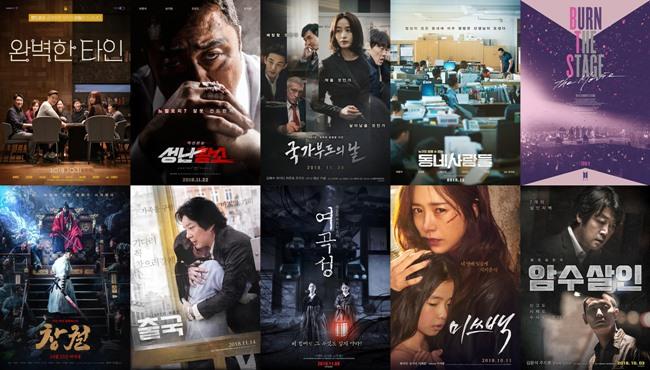 2018-11 電影十強海報