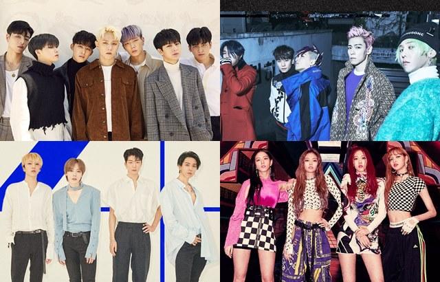 縮圖 / iKON、BIGBANG、WINNER、BLACKPINK