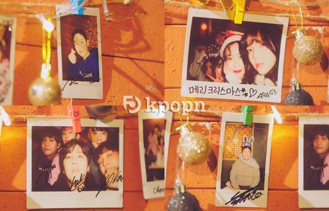 FNC 冬季單曲《It's Christmas》預告截圖