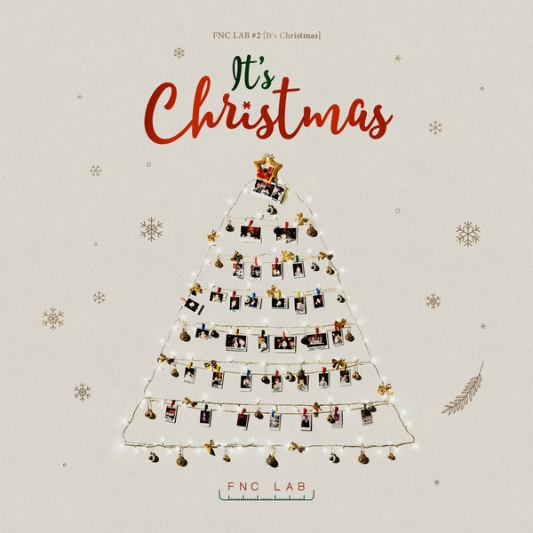FNC Ent. 家族聖誕曲《It's Christmas》封面