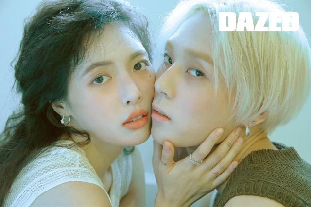 泫雅、E'Dawn《DAZED》情侶畫報