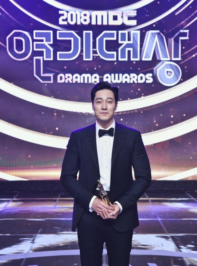 蘇志燮《2018 MBC 演技大賞》
