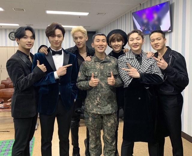 BTOB《KBS 歌謠大慶典》後台