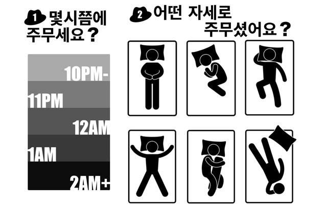 韓國 Oppa 怎麼睡圖