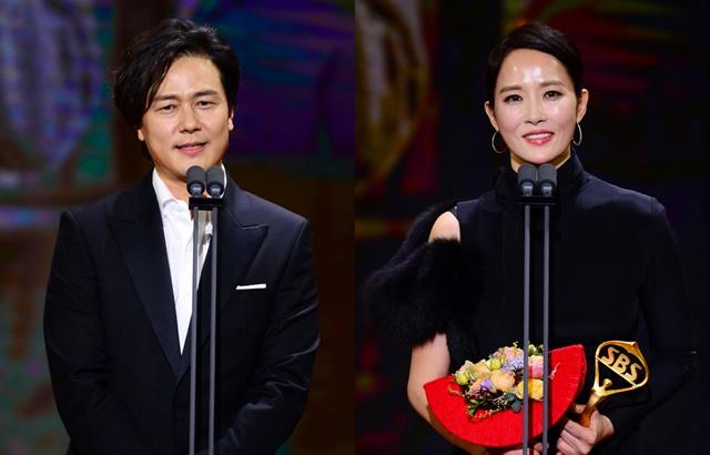 縮圖 /《2018 SBS 演技大賞》甘宇成、金宣兒
