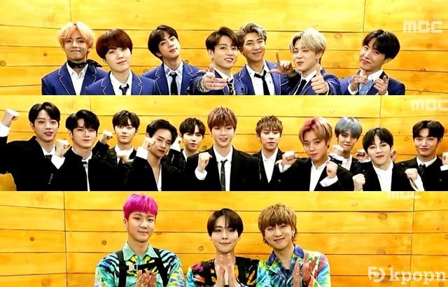 BTS、Wanna One、WINNER