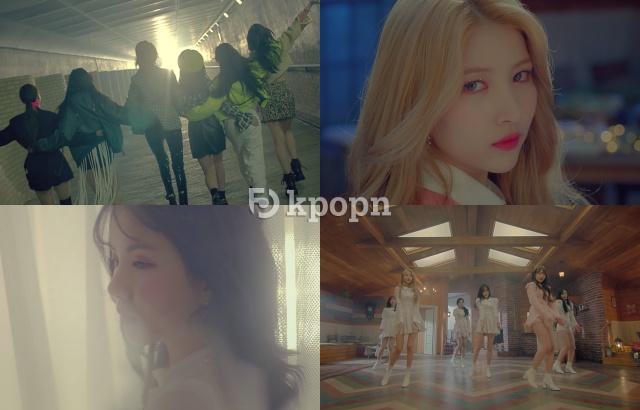 GFRIEND《Sunrise》第二波 MV 預告截圖