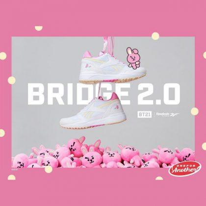 COOKY x Reebok 聯名鞋@BRIDGE 2.0 系列