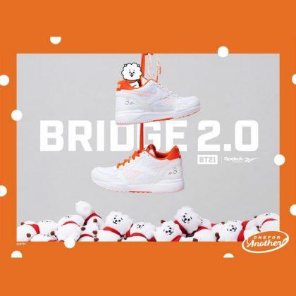 RJ x Reebok 聯名鞋@BRIDGE 2.0 系列
