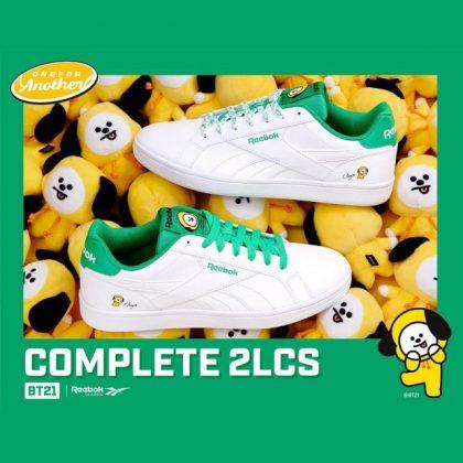 CHIMMY x Reebok 聯名鞋@COMPLETE 2LCS 系列