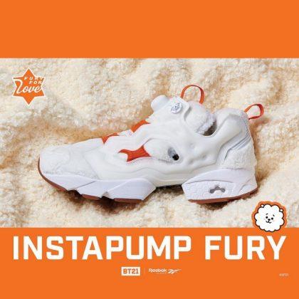 RJ x Reebok 聯名鞋@INSTAPUMP FURY 系列