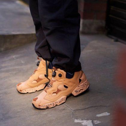 SHOOKY x Reebok 聯名鞋@INSTAPUMP FURY 系列
