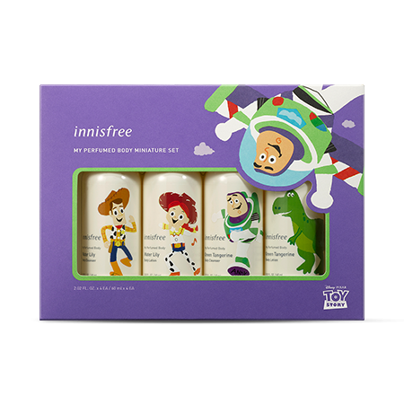 innisfree x 玩具總動員「我的香氛身體迷你組 (4入)」