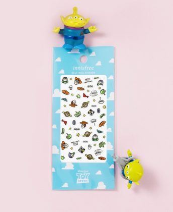 innisfree x 玩具總動員「指甲彩繪貼紙」