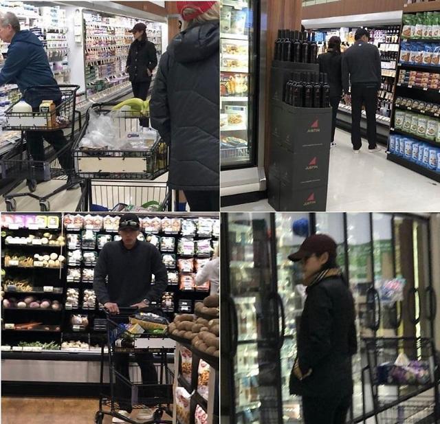 玄彬、孫藝珍 同遊美國超市