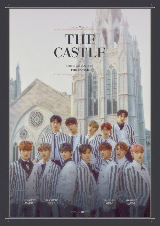 The Boyz 首次亞巡 The Castle 海報縮圖